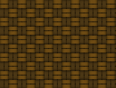 Old woven wood pattern photo