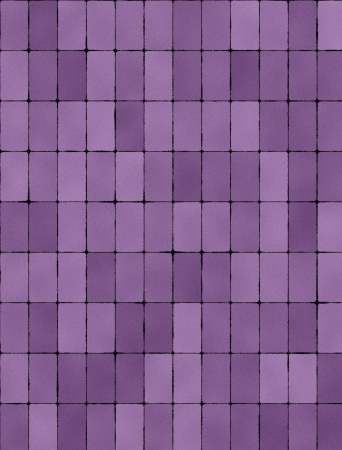 Seamless texture of purple tiles photo
