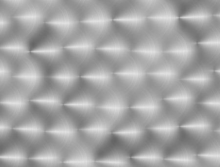 Shiny Light Gray Polished Metal