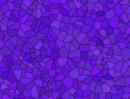 Violet abstract stained glass mosaic background photo