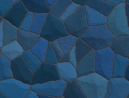 trencadis: Azul trencadis roto los azulejos de mosaico