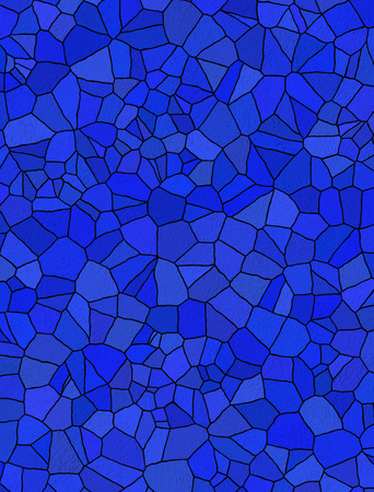 blue mosaic for background photo