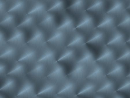 blue metallic background: brushed blue metallic background with highlight Stock Photo