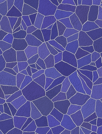 blue and purple rustic mosaic tile pattern photo