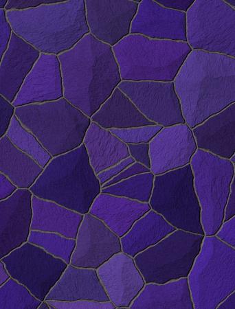 trencadis: violeta trencad�s azulejos de mosaico roto Foto de archivo