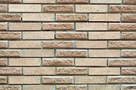 High resolution cream brick wall texture photo