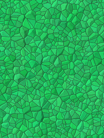 Green bricks abstract seamless pattern photo