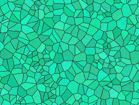 Light blue mosaic for background photo