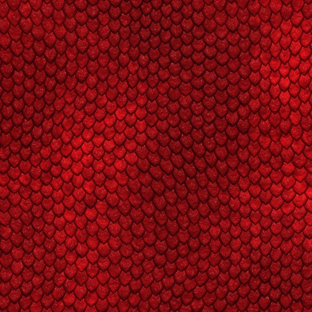 Seamless dragon scale pattern photo