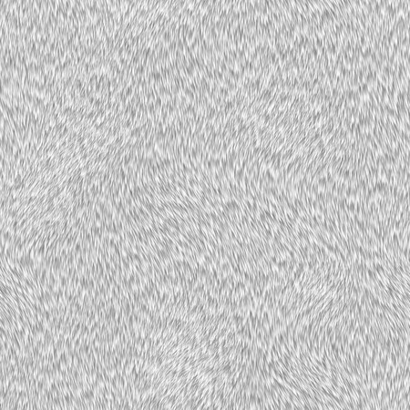 short white fur texture Stock Photo