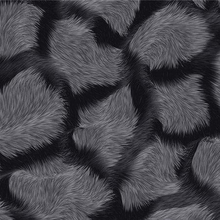 abstract fur background pattern. simple vector texture. Vettoriali