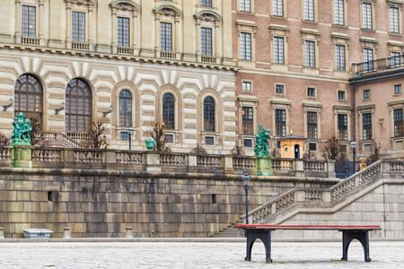 Stockholm is the European capital of Sweden in winter