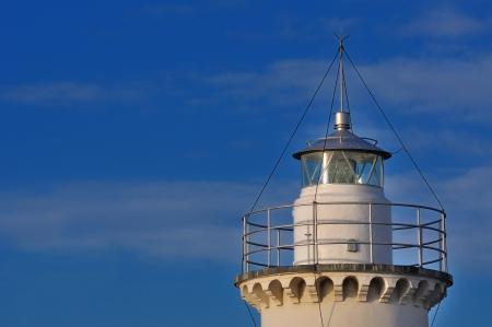 View of the Lighthouse of Cesenatico, Emilia Romagna, Italy