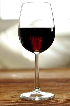 Glass of fine italian red wine, selective focus Stock Photo - 16675073