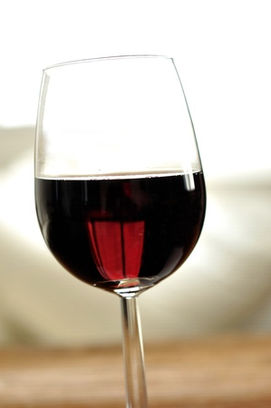 Glass of fine italian red wine, selective focus Stock Photo - 16675071