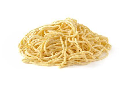 Spaghetti alla chitarra, fresh italian pasta Stock Photo - 16759297