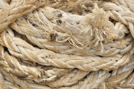Old rope background Stock Photo - 17245730