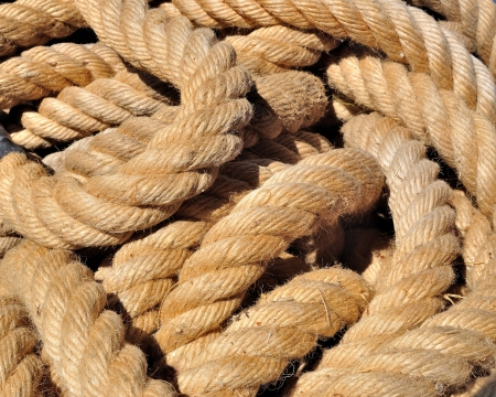 Old rope background photo