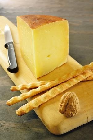 Pecorino toscano, italian sheep cheese, typical of Tuscany Stock Photo - 17779793