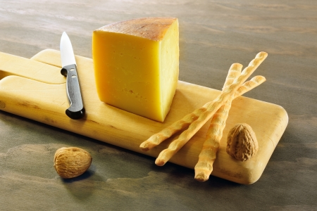 Pecorino toscano, italian sheep cheese, typical of Tuscany Reklamní fotografie - 17779786