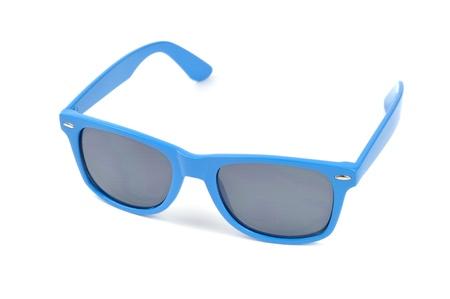 Sluneční brýle, izolovaných na bílém