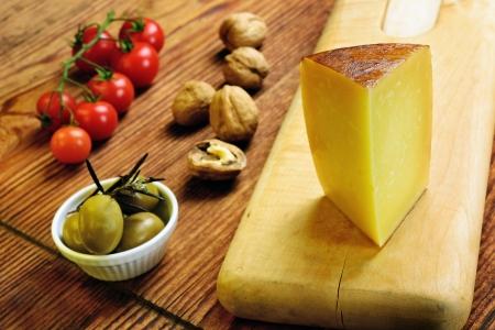 Pecorino Toscano, italský ovčí sýr, typické Toskánsko