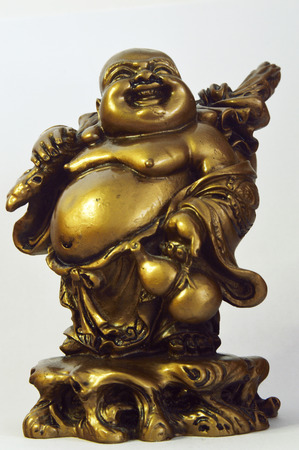 indigenous medicine: Happy Buddha