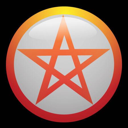 golden ratio: Pentagram