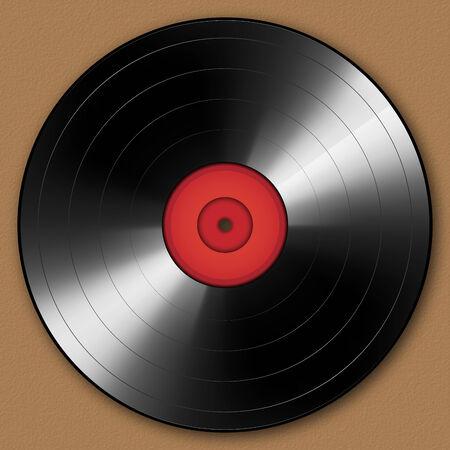 photo realism: Vinyl