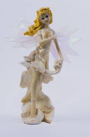 blonde blue eyes: Fairy with blonde hair