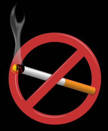 suggesting: Sign suggesting non-smoking