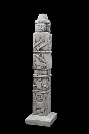 slavs: Figurine of the pagan god of our ancestors Slavs