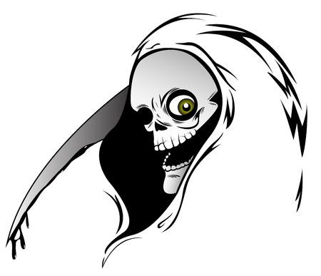 grim: Illustration of  Grim Reaper Illustration