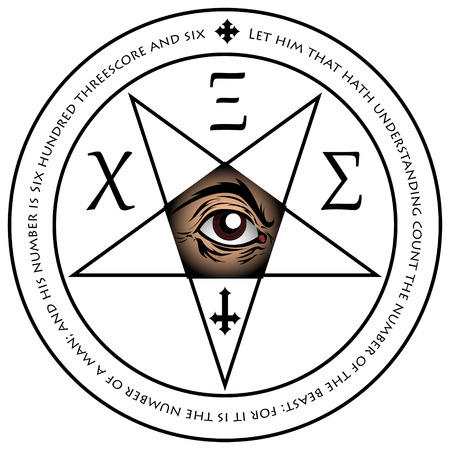 Illustration Of Antichrist Sigils