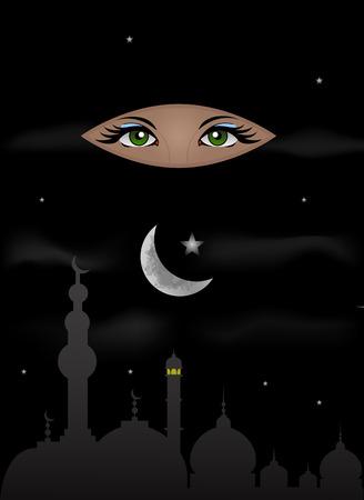 Arabian Night and Scheherazade Eyes