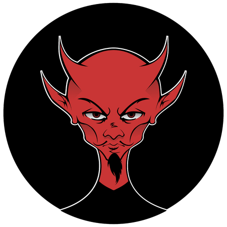 The figure of the Devil for Halloween and beyond