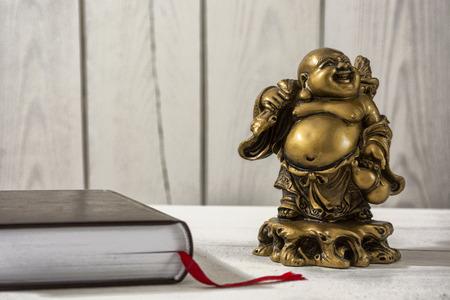 Room of religious man, a Buddhist Stok Fotoğraf