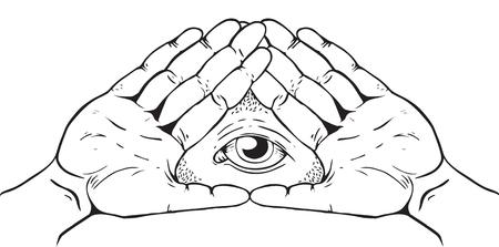 Illuminati, signe magique et occulte