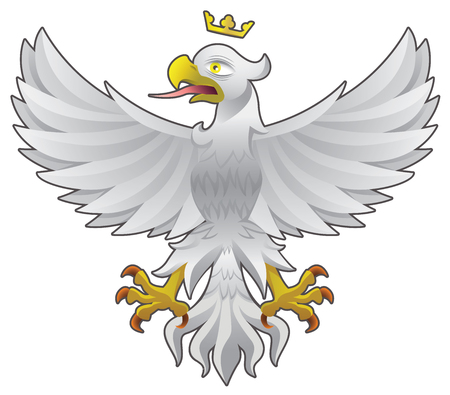 Eagle symbol of Power, bravery, freedom and independence