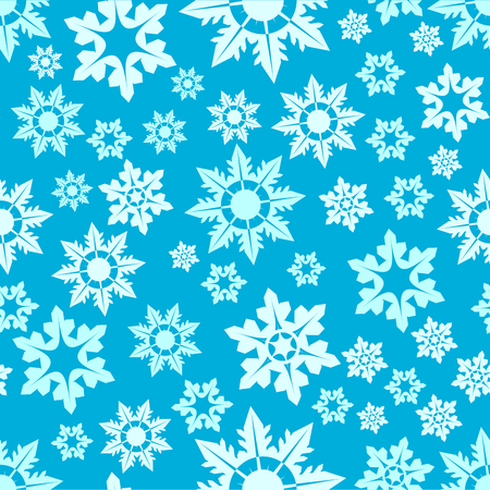 Snow pattern on winter and christmas. You can use as paper on presents or like background your website.
