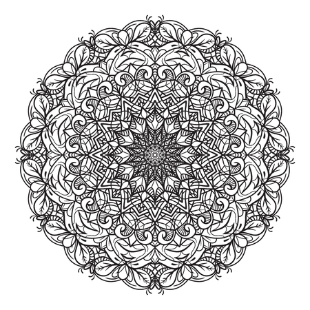Exactly made mandala for any use. This is the first, large mandala of my workmanship