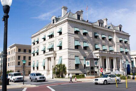 Escambia County Court House in downtown Pensacola, Florida. Stock Photo