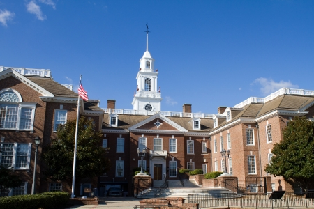 Delaware state capital building located in the city of Dover, DE