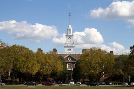 legislature: Delaware state capital building located in the city of Dover, DE