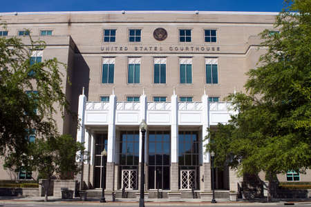 The United States Courthouse located in Pensacola, Florida, USA
