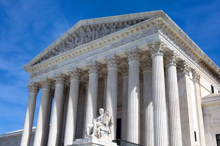 appeals: The facade of the United States Supreme Court building in Washington, D.C.