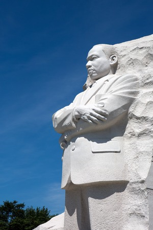 dr: WASHINGTON, DC, USA - JULY 10, 2015: Memorial to Dr. Martin Luther King Jr. on July 10, 2015 in Washington, DC.