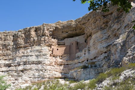 Montezuma Castle National Monument, located in central Arizona, is an ancient Pueblo Indian cliff dwelling and is managed by the U.S. National Park Service.