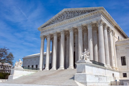 United States Supreme Court building is located in Washington, D.C., USA.