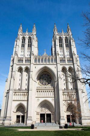Washington National Cathedral is located in Washington, D.C., USA, and is on the National Register of Historic Places.